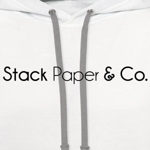 stack_paper_and_company T-Shirts - Contrast Hoodie