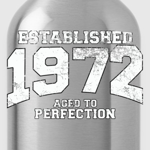 established_1972 T-Shirts - Water Bottle