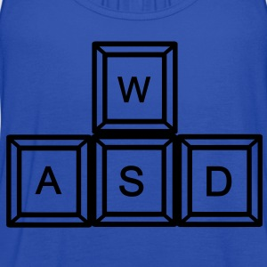 WASD Gaming Kids' Shirts - Women's Flowy Tank Top by Bella
