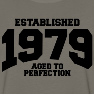 aged to perfection established 1979 T-Shirts - Men's Premium Long Sleeve T-Shirt