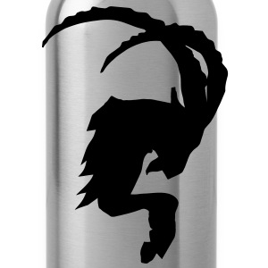 Ibex Capricorn Steinbock T-Shirts - Water Bottle