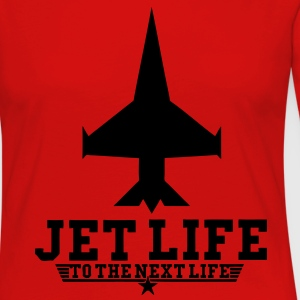 Jet Life To The Next Life T-Shirts - stayflyclothing.com - Women's Premium Long Sleeve T-Shirt