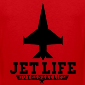 Jet Life To The Next Life T-Shirts - stayflyclothing.com - Men's Premium Tank