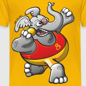 Olympic Shot Put Elephant Kids' Shirts - Toddler Premium T-Shirt