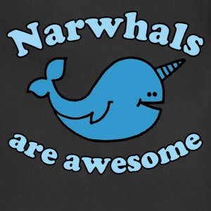 Narwhal are Awesome - Adjustable Apron