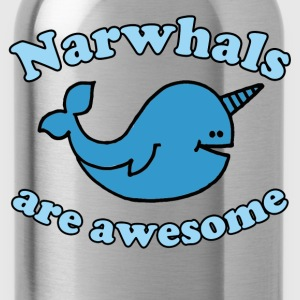 Narwhal are Awesome - Water Bottle
