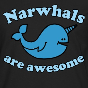 Narwhal are Awesome - Men's Premium Long Sleeve T-Shirt
