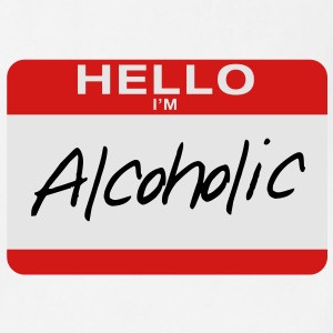 Hello I'm Alcoholic - Adjustable Apron