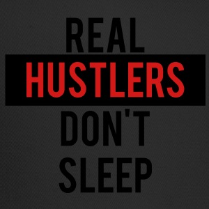real_hustlers_dont_sleep T-Shirts - Trucker Cap