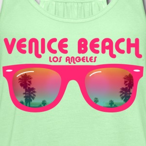 Venice beach los angeles T-Shirts - Women's Flowy Tank Top by Bella
