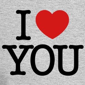 I love You (black text) Women's T-Shirts - Men's Long Sleeve T-Shirt