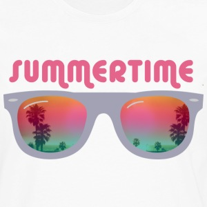 Summertime sunglasses T-Shirts - Men's Premium Long Sleeve T-Shirt