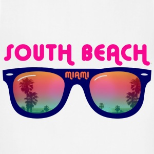 South Beach Miami sunglasses T-Shirts - Adjustable Apron
