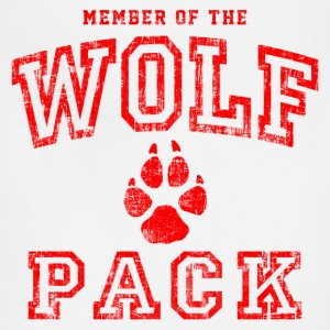 Wolf Pack Red T-Shirts - Adjustable Apron