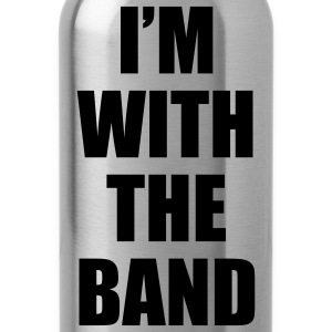 i'm_with_the_band T-Shirts - Water Bottle