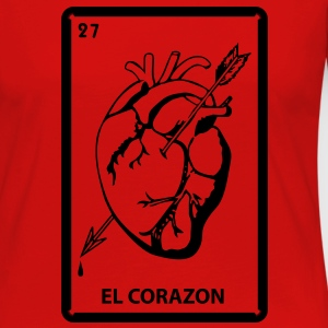 Corazon T-Shirts - Women's Premium Long Sleeve T-Shirt