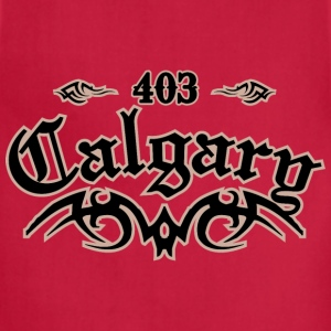 Calgary 403 Heavyweight T-Shirt - Adjustable Apron