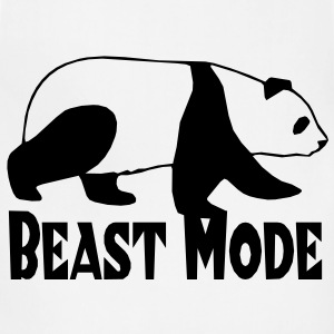 Beast Mode Parody T-Shirts - Adjustable Apron