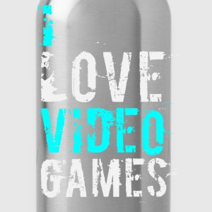 i love video games v1 T-Shirts - Water Bottle