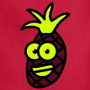 obst__comicananas_3c T-Shirts - Adjustable Apron