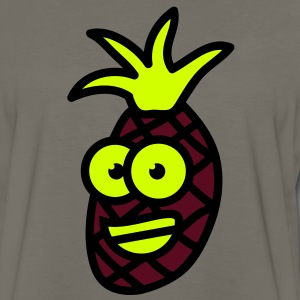 obst__comicananas_3c T-Shirts - Men's Premium Long Sleeve T-Shirt