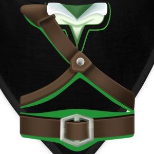 Link Green Tunic (Skyward Sword) - Front Only T-Shirts - Bandana