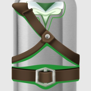Link Green Tunic (Skyward Sword) - Front Only T-Shirts - Water Bottle