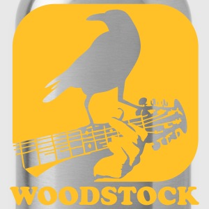 crow on the guitar T-Shirts - Water Bottle