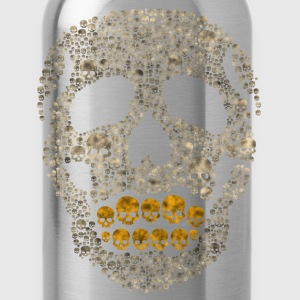 The Golden Skull T-Shirts - Water Bottle