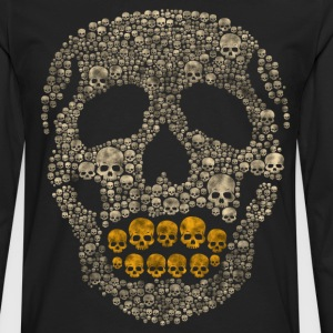 The Golden Skull T-Shirts - Men's Premium Long Sleeve T-Shirt