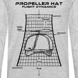 Propeller Hat Flight Dynamics - Men's Premium Long Sleeve T-Shirt
