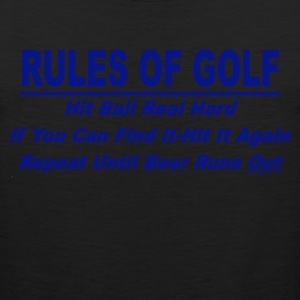Rules Of Golf - Men's Premium Tank