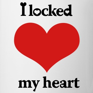 I Locked My Heart Left Side - Coffee/Tea Mug