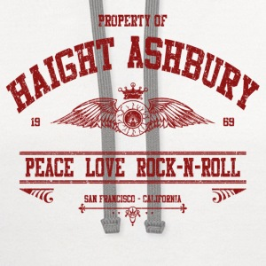 PROPERTY OF HAIGHT ASHBURY T-Shirts - Contrast Hoodie