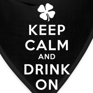 KEEP CALM AND DRINK ON Kids' Shirts - Bandana