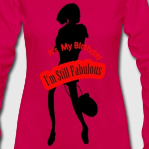It's My Birthday - Women's Premium Long Sleeve T-Shirt