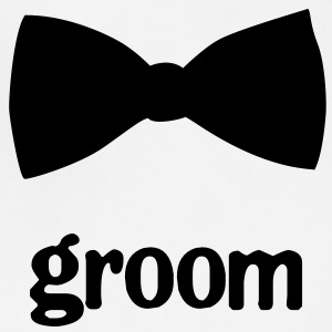 Groom Bow Tie - Adjustable Apron