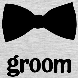 Groom Bow Tie - Men's Premium Tank