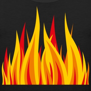 Fire inside t-shirt - Men's Premium Tank