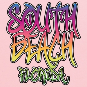 South Beach Graffiti Heavyweight T-Shirt - Kids' Hoodie
