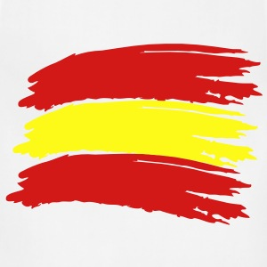 Flag Spain Vector T-Shirts - Adjustable Apron