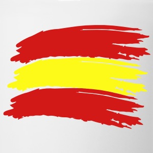 Flag Spain Vector T-Shirts - Coffee/Tea Mug
