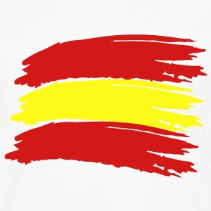 Flag Spain Vector T-Shirts - Men's Premium Long Sleeve T-Shirt