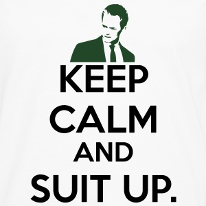 KCCO - Keep Calm and Suit Up T-Shirts - Men's Premium Long Sleeve T-Shirt