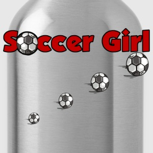 Soccer Girl - Water Bottle