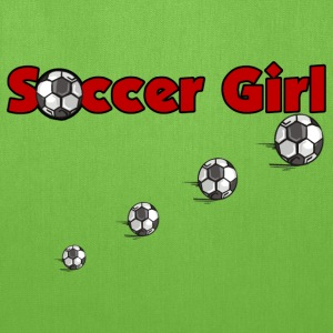Soccer Girl - Tote Bag