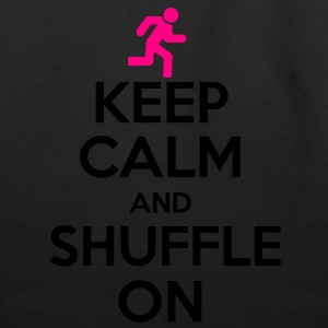 Keep Calm And Shuffle On Women's T-Shirts - Eco-Friendly Cotton Tote