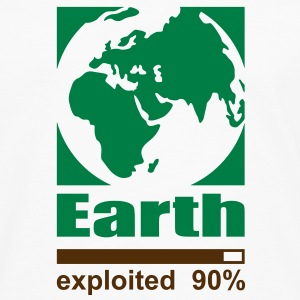 Earth exploited T-Shirts - Men's Premium Long Sleeve T-Shirt