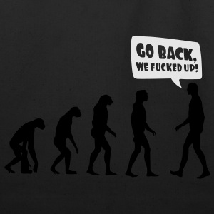 Go back we fucked up Women's T-Shirts - Eco-Friendly Cotton Tote