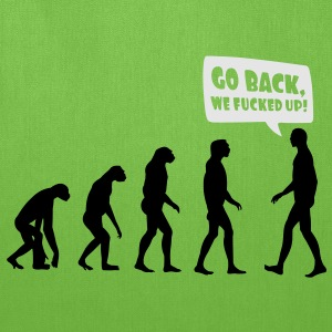 Go back we fucked up Women's T-Shirts - Tote Bag